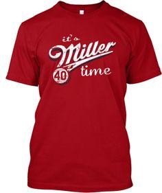 Its Miller Time. Shelby Miller Shirt $15