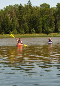 Paddling in and around Drummond Island - nothing like it!