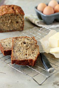 Rum-Coconut Banana Bread | MyBakingAddiction.com