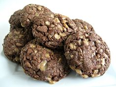 Soft Chocolate-Toffee Cookies