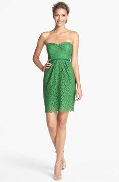 Fresh floral lace on Jenny Yoo's 'Hudson' sheath dress