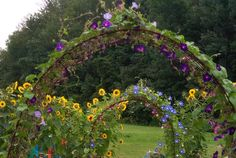 Someday I will totally have these gorgeous garden arches somewhere in my yard