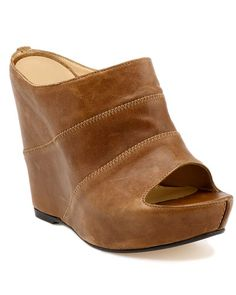 Stuart Weitzman 'Coverlet' Leather Wedge Sandal