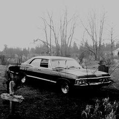 Impala 67' Supernatural