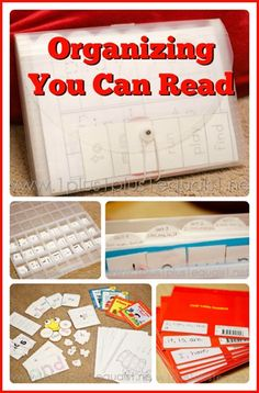 Organizing You Can Read -- tips from @{1plus1plus1} Carisa