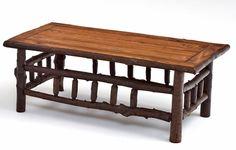 Rustic Log Furniture - Coffee Table - Dakota Collection - Item #CT03090