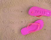 honeymoon, beaches, sand, gift, slipper