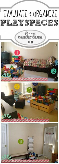 ORGANIZE your PLAYSPACE