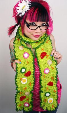 Salad scarf!