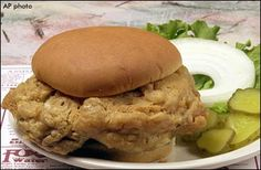 Indian Fried Brain Sandwich. A 6-ounce scoop of beef brain batter fried up at the Hilltop Inn packed about 24 grams of fat. The pork version is estimated to be closer to around 18 grams.
