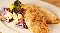 Kirstie Alley's Parmesan Chicken and Veggies #whatsfordinner