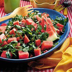 Watermelon-Prosciutto Salad - Quick & Delicious Summer Salad Recipes - Southern Living