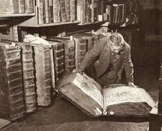 Prag..Kütüphane..