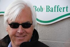 Trainer Bob Baffert was among six stars inducted into Thoroughbred racing's Hall of Fame on August 14, 2009.