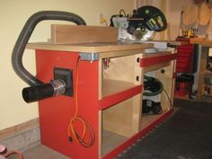 #miter saw table and #router table