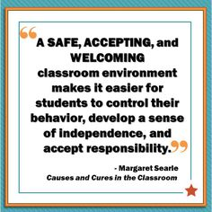 Causes & Cures in the Classroom by Margaret Searle