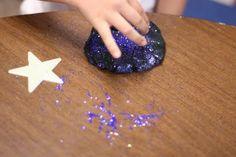 Galaxy Playdough - Fairy Dust Teaching