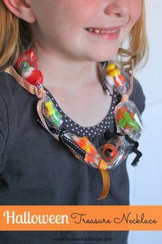 halloween treasure necklace