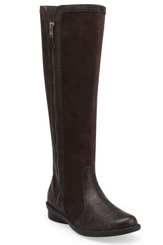 Clarks Nikki Park Boot In Brown Scrunch -$89.99