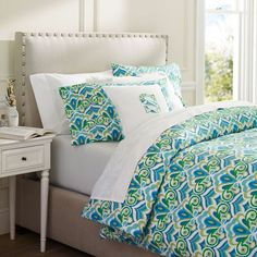 Portofino Duvet Cover & Pillowcases at PBteen - @Caitlin Maselli - is this the new bedding you want?