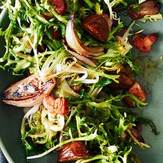 Wilted Frisée with P