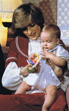 Diana and William December 1983