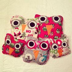 Cute Gift! Hand-Sewn Warming Pads!