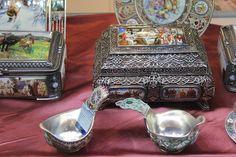 ростовская финифть-luxury from the  town  Rostov Great.russian enamel-finifty