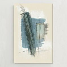 Oversized Abstract Wall Art #westelm