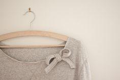 super cute/easy sweatshirt redo