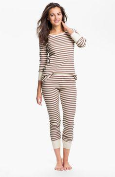 Hue 'Huetopia' Thermal Pajamas available at #Nordstrom $48.00
