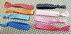 chevron hair ties - soft hair ties for kids