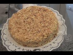 Pastel Sara de Mantequilla y Almendras