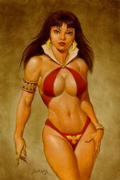 Vampirella by Paul Abrams
