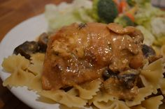 Slow cooker angel chicken via @Kim Woodward of newlywoodwards.com