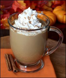 Hungry Girl's version of Starbucks Pumpkin Spice Latte (97 calories vs 300) YES!!