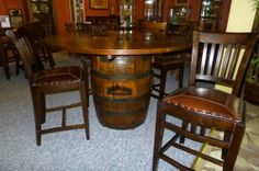 Table Top For Jack Daniels Barrel By The Rusted Nail Make This Place Spiffy Pinterest