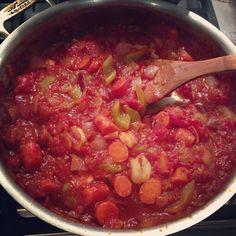 Rustic Vegetable Ragu.
