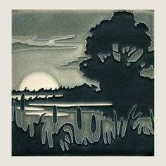 6x6 Marsh (Grey) by Motawi