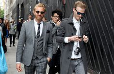 London Collections Men Street Style Dapper Gents | Global Blue