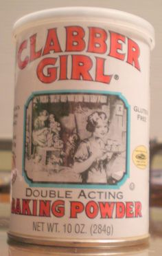 Iconic Clabber Girl was born when a Terre Haute, Indiana wholesale company named Hulman Brothers added its own brand of baking powder. They called it Clabber, which is apparently a word for sour milk.  A family owned business, Clabber Girl's parent company, Hulman & Company, also owns the Indianapolis Motor Speedway.