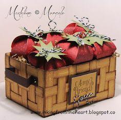 strawberry cricut basket, cricut artist, artist cricut