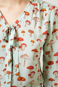 Toadstool blouse, Anthropologie