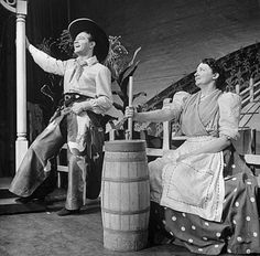 Oklahoma is a seriously creepy musical, but people seem to only remember the singing cowboy...