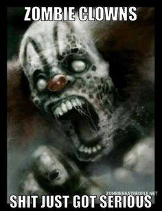 clown apocalyps, scari clown, creepi clown, zombi clown, evil clown, horror, zombies, halloween, clowns