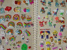80s, books, sticker book, blast, stickers