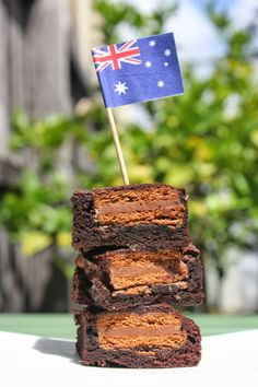Green Gourmet Giraffe: Tim Tam Brownies for Australia Day