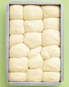 No-Knead Dinner Rolls -- make the dough the night before and bake them in the morning.