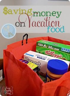 Great tips for saving money on vacation food via Living Laughing and Loving