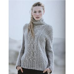 Ravelry: Buttercup pattern by Helga Isager libraries, buttercup pattern, helga isag, cabl turtleneck, patterns, cabl pullov, crochet, cozi cabl, knit
